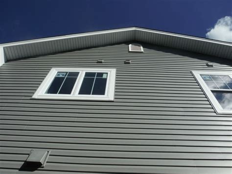 Charcoal Grey Siding - view of the certainteed charcoal gray vinyl siding