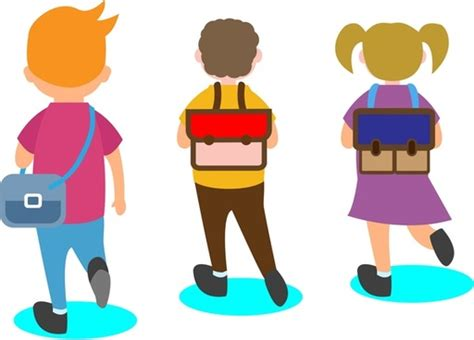 education design education design theme happy pupils going to school free