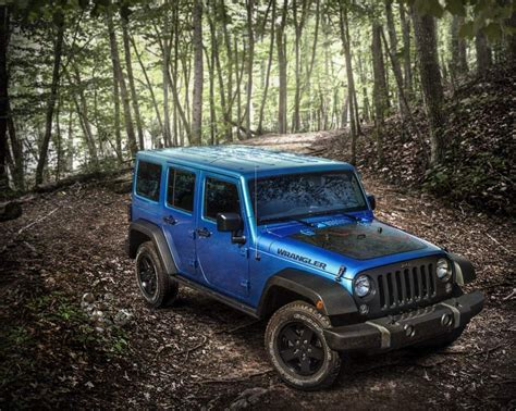 jeep black 2016 the 2016 jeep wrangler black bear edition has something