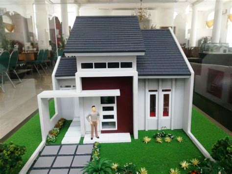 membuat maket rumah 9 macam maket rumah minimalis