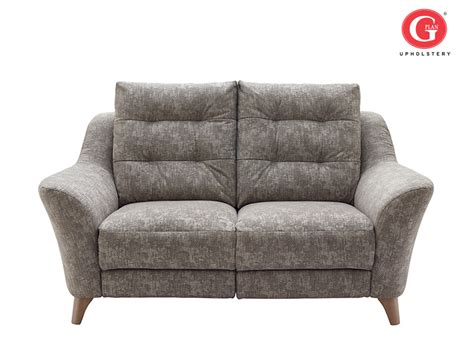 buy albany 3 seat power fabric reclining sofa by