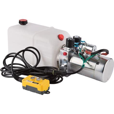 wiring diagram hydraulic dump trailer system 12 volt