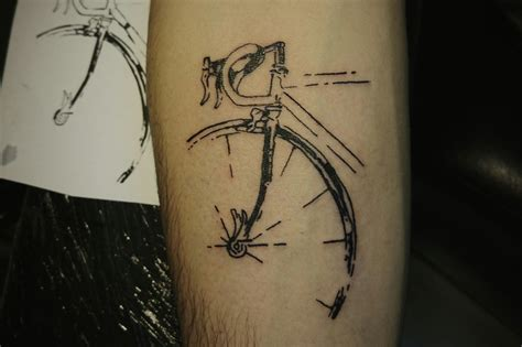 ink lab tattoo cagnolo bicycle my tattoos