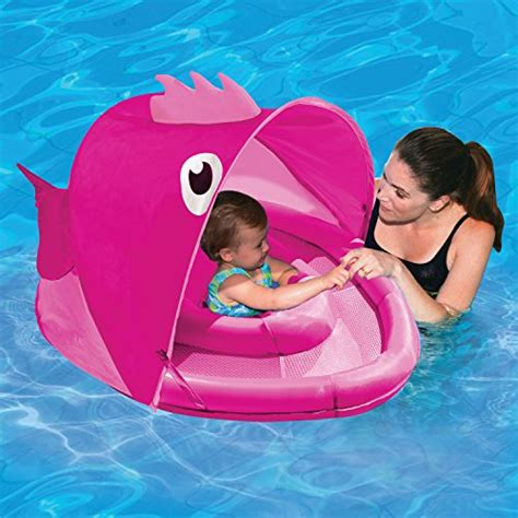 baby boat float aqua leisure girls fish character fabric baby boat with