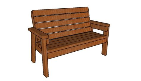 2 x 4 bench how to build a 2x4 garden bench howtospecialist how to