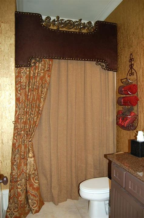 curtain valance ideas shower home decor custom curtains