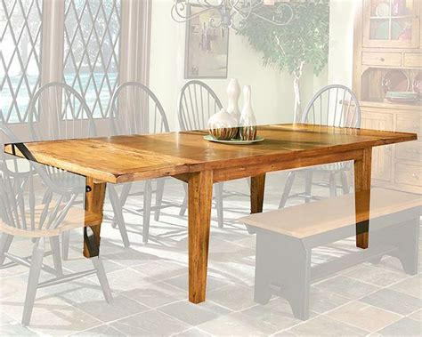 intercon solid oak dining table rustic traditions