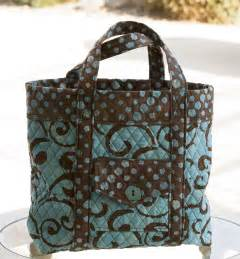 quilted tote bag at the cottage