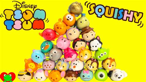 Squishy Disney Tsum Tsum disney tsum tsum squishy figure 5 packs with