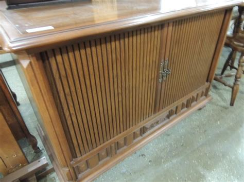 vintage tv cabinet with doors vintage tv cabinet with roll doors