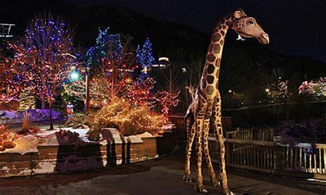 Cheyenne Mountain Zoo In Colorado Springs Co Groupon Cheyenne Mountain Zoo Lights