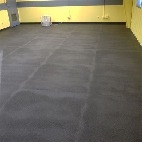 rubber home gym flooring tile rubberlock 2x2 ft 1 2 inch