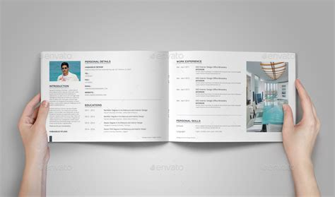 Interior Design Portfolio Template By Habageud Graphicriver Portfolio Template