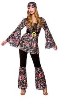 Feelin groovy hippy outfit fancy dress costume 60s hippie flower po