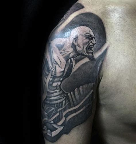 kratos tattoo 30 kratos designs for god of war ink ideas