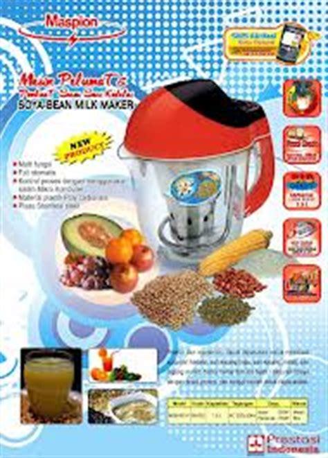 Juicer Maspion maspion soya maker juice buah kedelai setiap saat