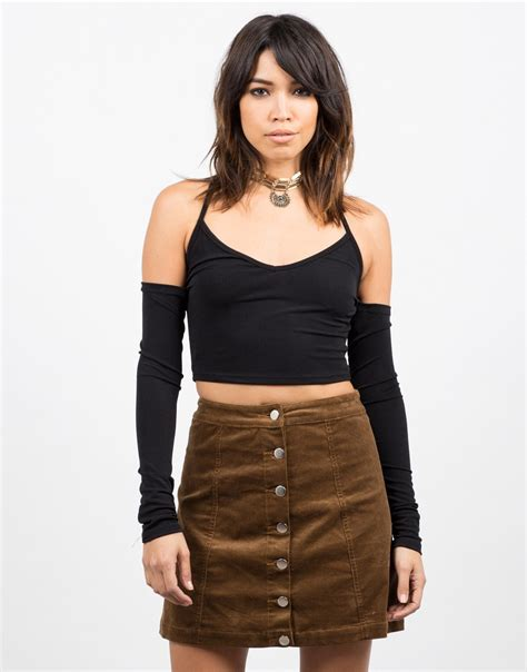 Cross Crop Top N3739 cross back cropped top black crop top sleeve 2020ave