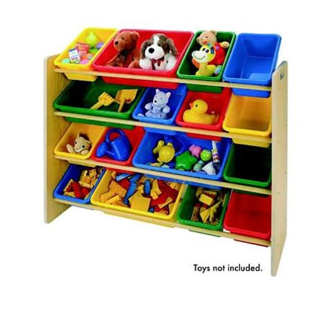 tot tutors pine with primary colors sized organizer tot tutors focus sized storage organizer with 16