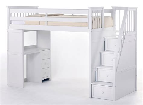 white bunk bed with desk bedroom the best choices of loft beds with desks for