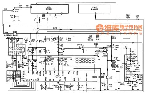which is a single integrated circuit c271ad single chip micro computer communication integrated circuit diagram filter circuit