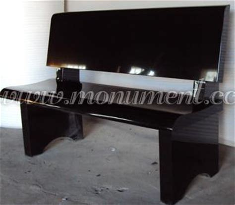 black granite bench black granite memorial bench mo 211 china black