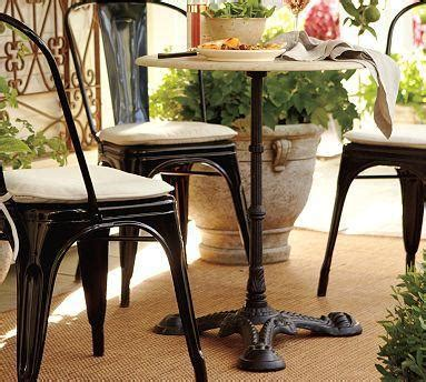 pottery barn bistro table manchester bistro table pottery barn