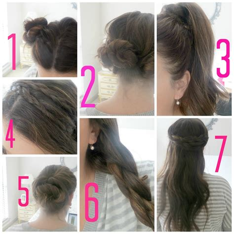 easy and beautiful hairstyles step by step simple hairstyles for long hair step by step hairstyle