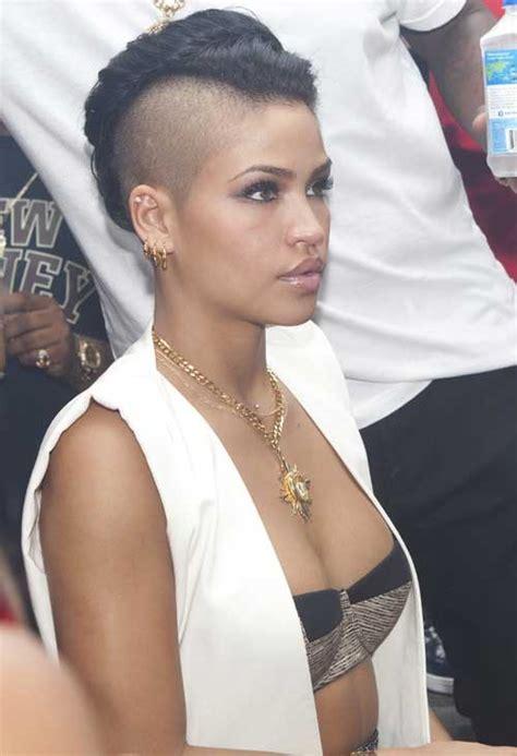 mohawk short hairstyles for black women short hairstyles