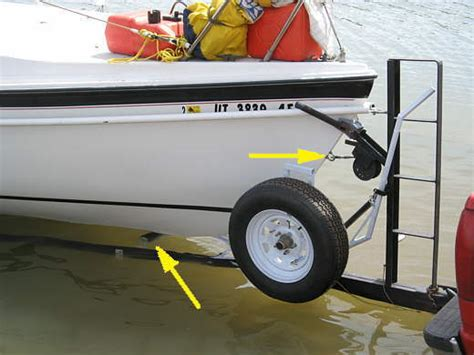 boat trailer winch guide retrieving sailboat onto trailer sailboatowners forums