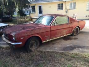 Ford Mustang Fastback For Sale 1966 Ford Mustang Fastback C Code 289 V8 Complete Project