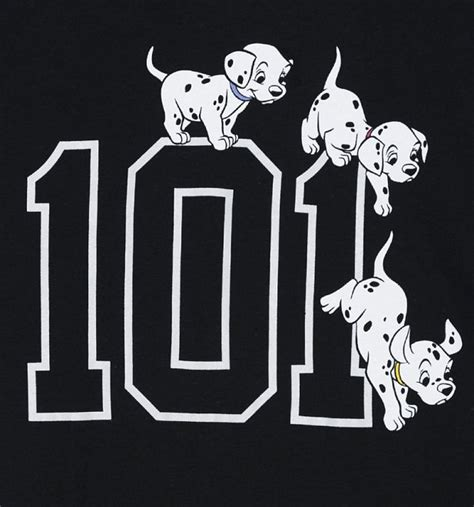 Disney S 101 Dalmatians official s black disney 101 dalmatians t shirt ebay