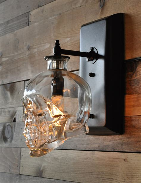 Skull Sconce skull sconces the stylish guide to decorating with skulls popsugar home