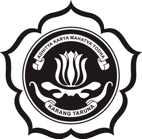 membuat logo karang taruna logo karang taruna hitam karang taruna berprestasi