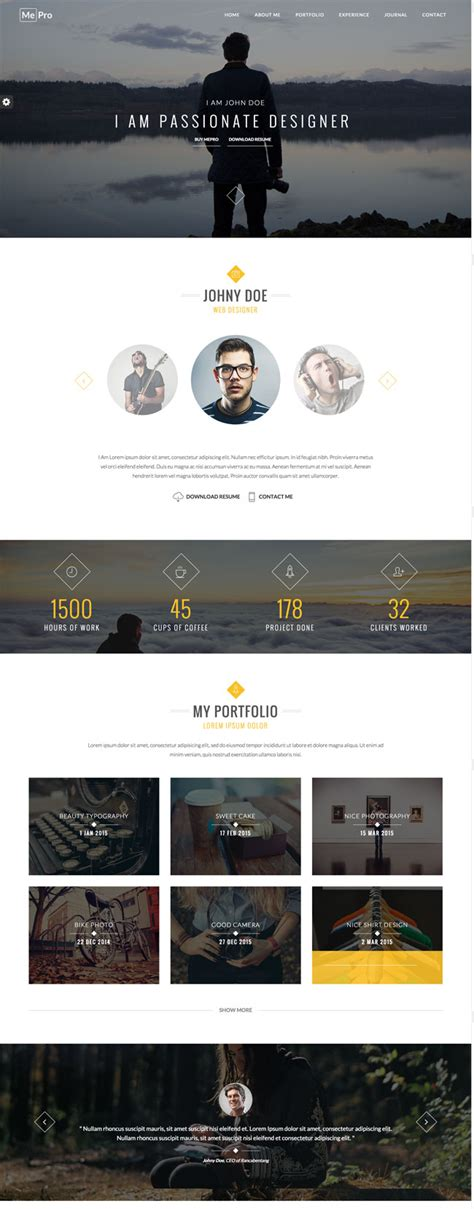 business card portfolio template 30 best html business card templates 2016 designmaz