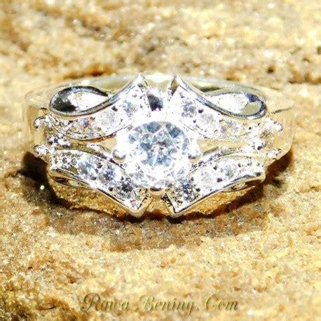 jual cincin lapis perak harga murah model exclusive ring 7 5us