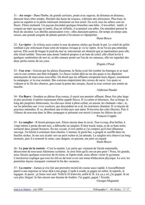 Dictées - Cm2 - Exercices - Orthographe - Français - Cycle
