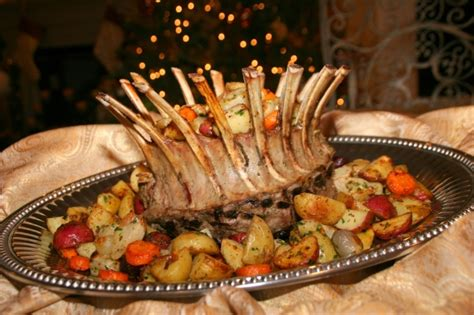 cooking with melody 187 crown roast of with roasted
