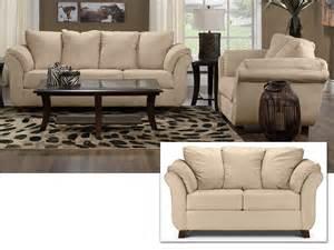 Livingroom Packages Collier 3 Pc Living Room Package Beige Leon S