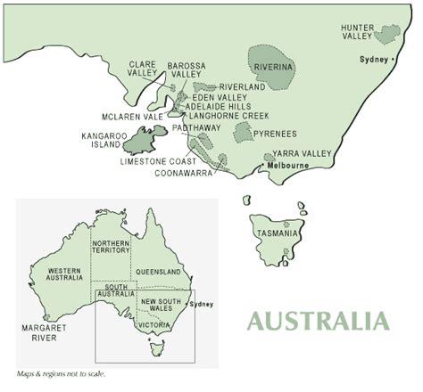 regional map of australia australia s wine regions supplewine