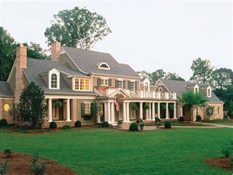 southern country homes deck front porch side facing garage gorgeous homes