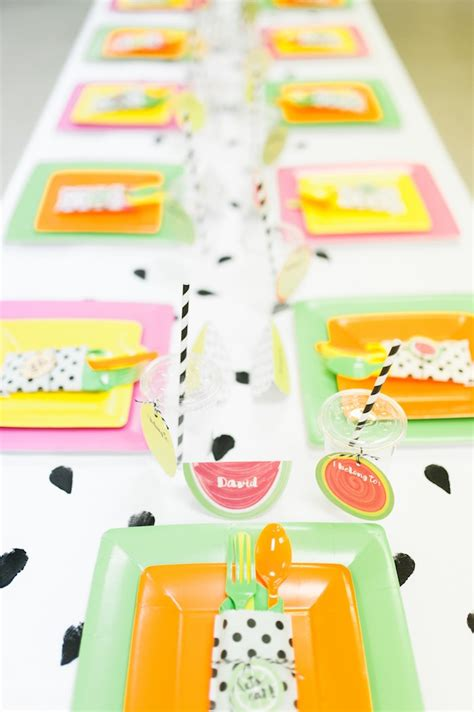 kara s party ideas fun tutti frutti birthday party kara