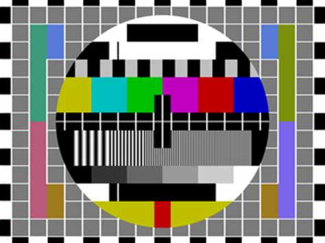 test pattern for led tv test card wikipedia