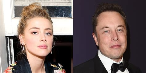 amber heard is apparently dating a rocket entrepreneur amber heard hangs out with elon musk in miami amber