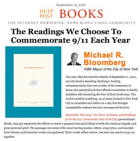 Huff Post Letter To My 29 Year Mba Students by Huff Post Books Features September Morning Powerhouse Books