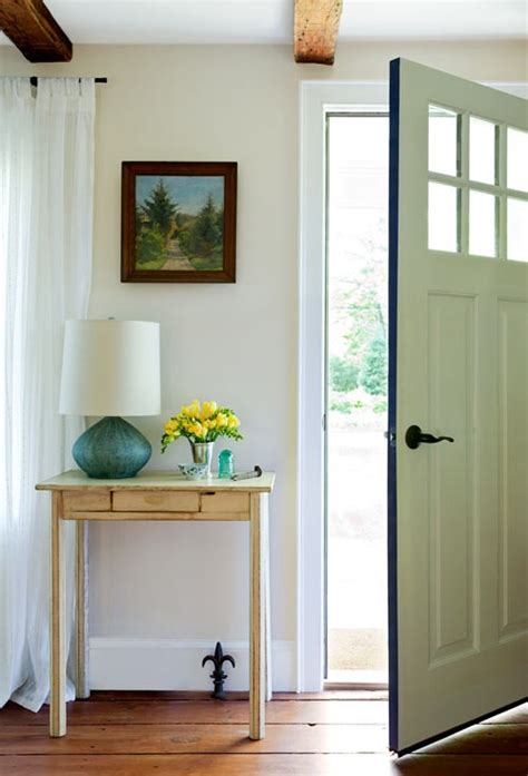 White Dining Bench by Small Spaces Entryways Foyers