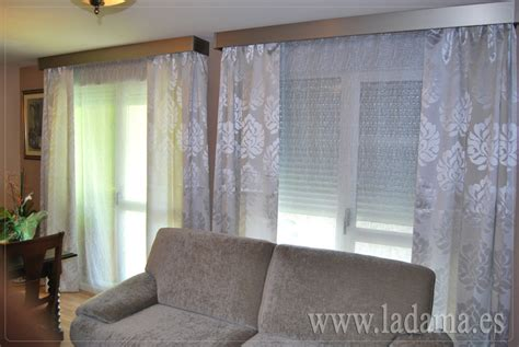 telas cortinas salon cortinas modernas