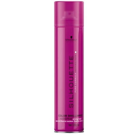Schwarzkopf Silhouette Hair Spray silhouette color brilliance hold hairspray 750ml by