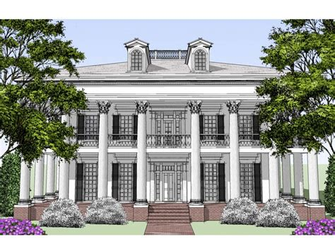 historic southern house plans marvelous house plans colonial 11 southern colonial style
