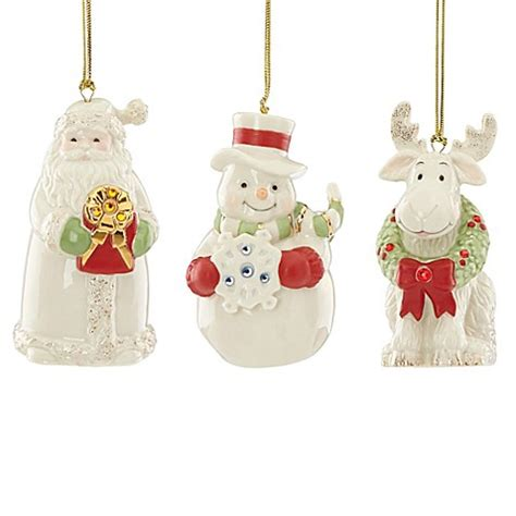 Bed Bath And Beyond Gift Cards At Christmas Tree Shops - lenox 174 gemmed christmas ornaments set of 3 bed bath beyond