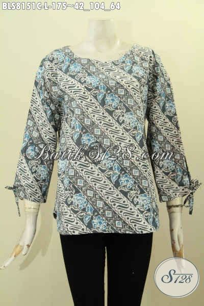 Atasan Batik Belakang model baju batik wanita pakaian atasan cewek desain tanpa